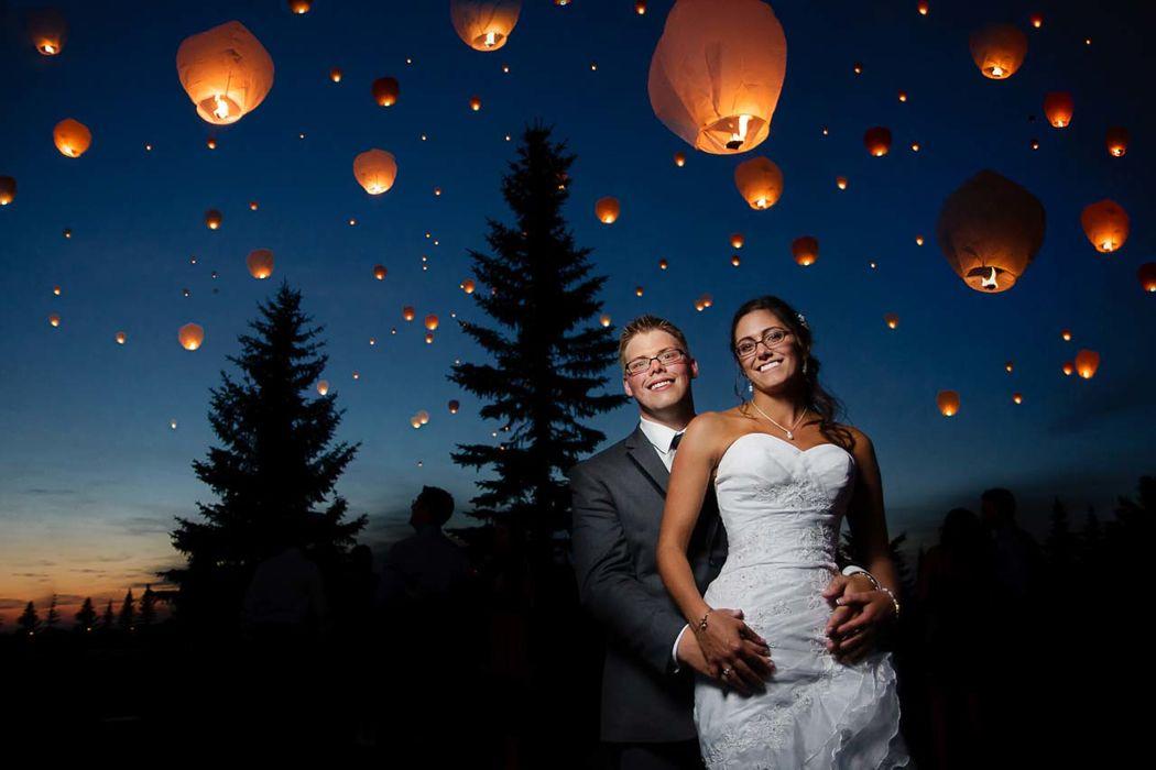 Decora el cielo con un hermoso espectáculo que proporcionan los Globos Sky Lanterns Premium.