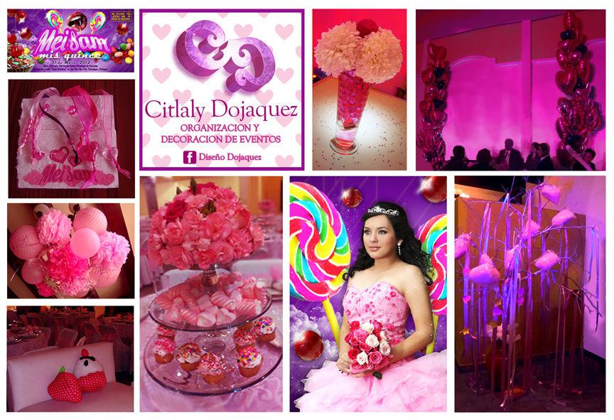 15`s Candy Party Diseñamos todo el estilo para tu fiesta!!