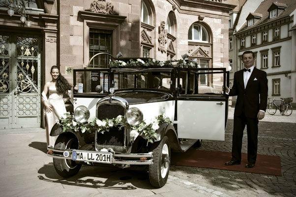 Beispiel: Für einen stilvolle Auftritt an Ihrem Hochzeitstag, Foto: Oldie².