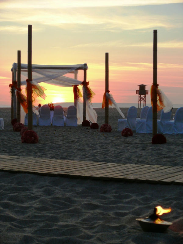 Ceremonia Romántica en la Playa
