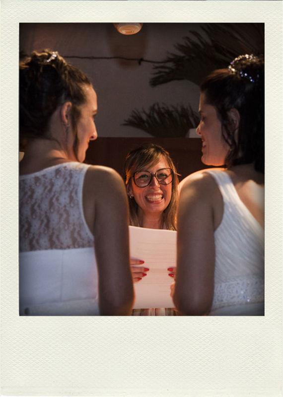 Duas noivas lindas! Erika e Carol! <3