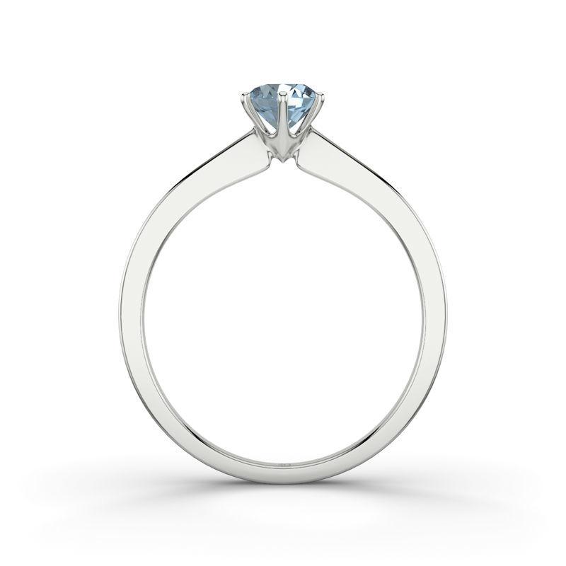 Beispiel: Azores RI3148 - Silber, Aquamarin, Foto: 21 Diamonds.