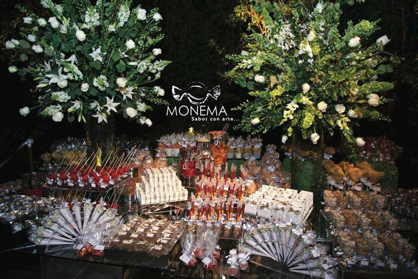 Mesas de dulces y quesos - Foto Monema