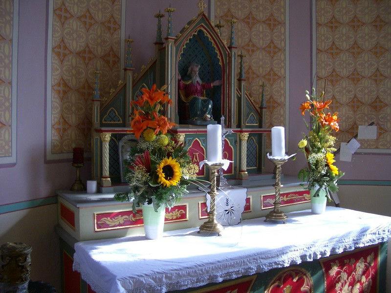Beispiel: Altar, Foto: Hofgut Elchenreute.