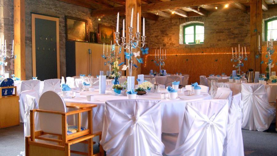 Beispiel: Eventdekoration, Foto: Landgasthaus Römerhof.