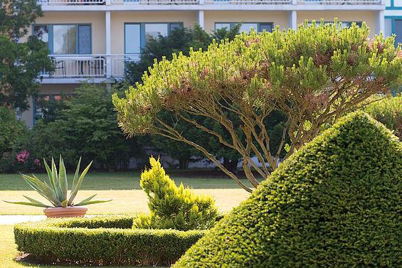 Beispiel: Gartenanlage, Foto: Travel Charme Bernstein Prerow.