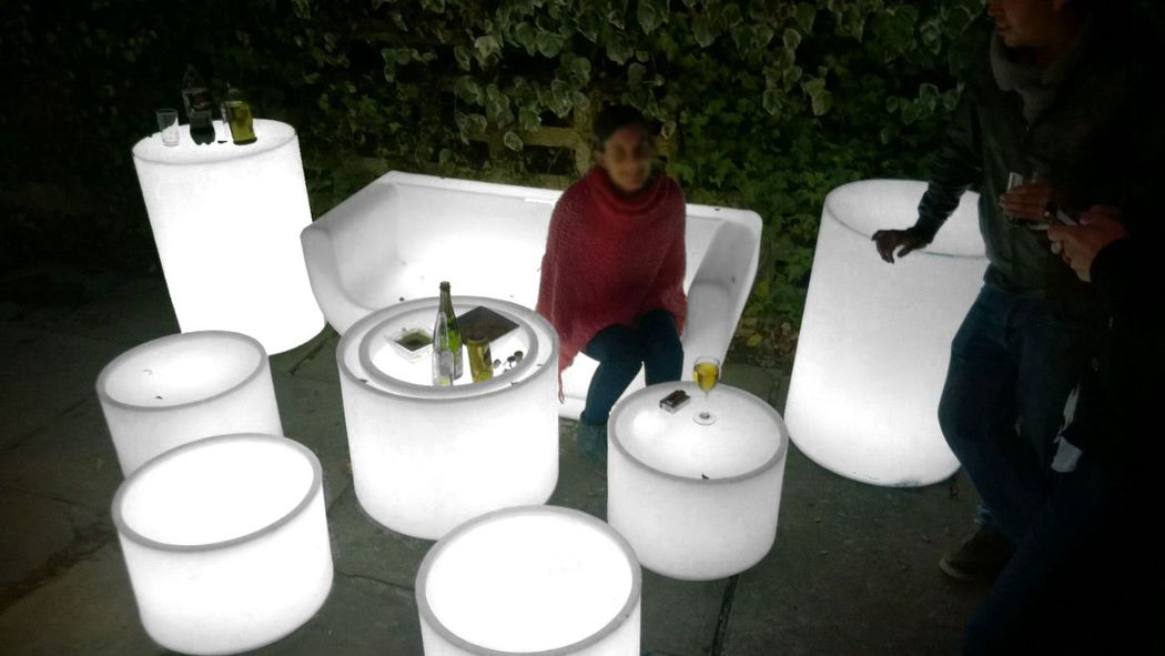 muebles led white