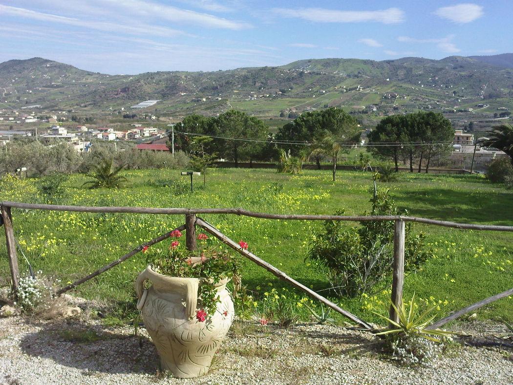 Giardino con vista panoramica