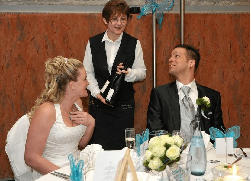 Beispiel: Brautpaar, Foto: Richterkeller.