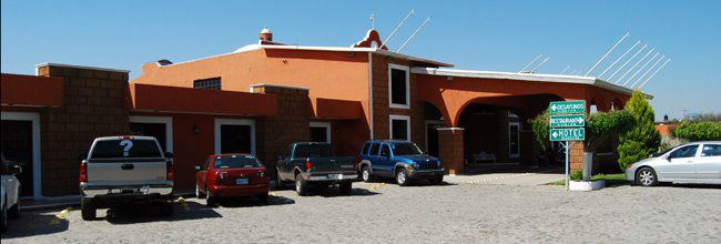Hotel Mesón del Puente en Acámbaro.