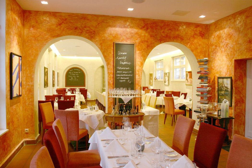 Beispiel: Restaurant - Innenansicht, Foto: Altes Zollhaus.
