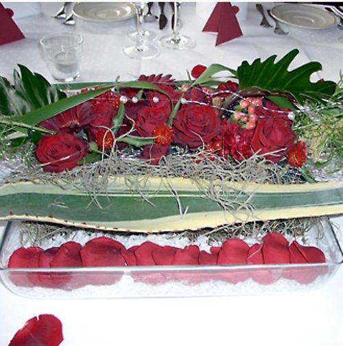 Beispiel: Tischdekoration, Foto: Bluemehüüsli.