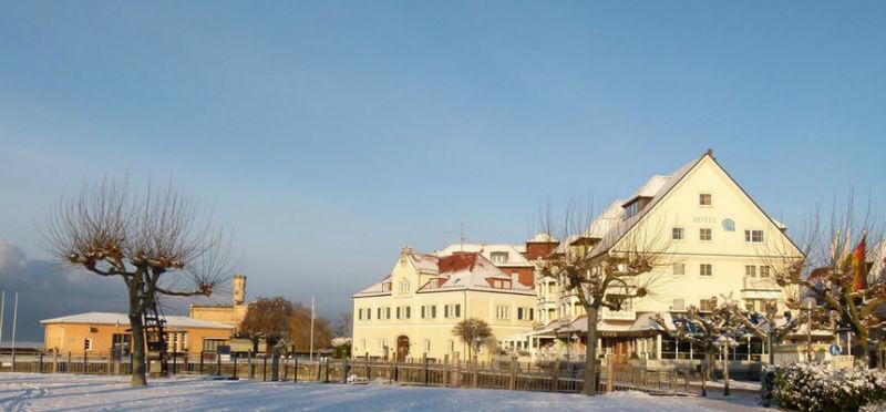 Beispiel: Hotel im Winter, Foto: AKZENT Hotel Löwen.