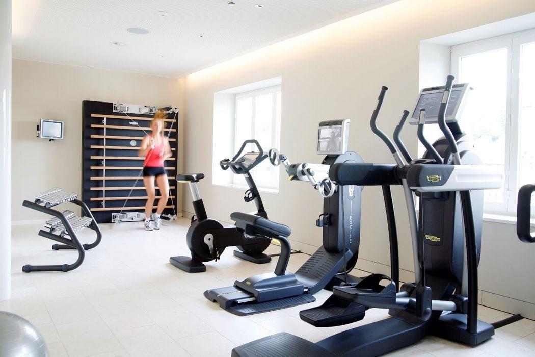 Fitnessbereich Foto: Hotel Schweizerhof Luzern