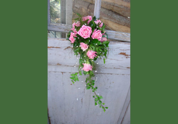Beispiel: Brautsträuße, Foto: Haus Blumengeschäft und Gärtnerei.