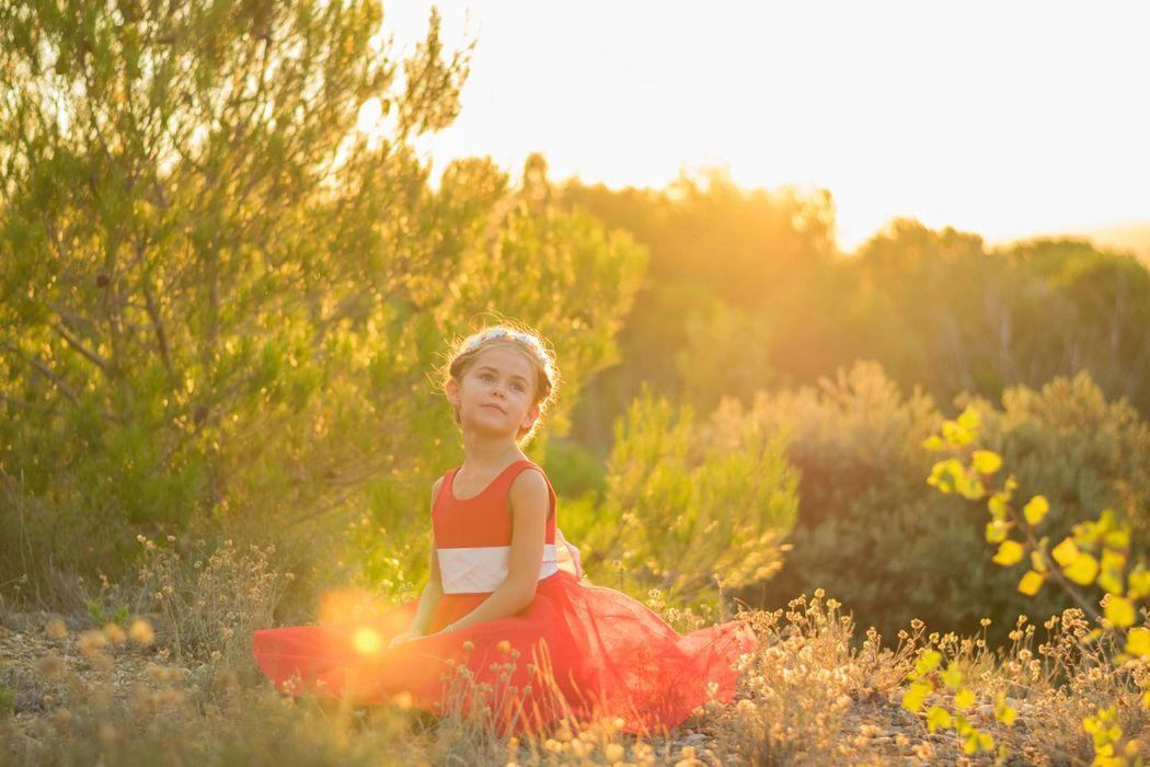 Kaa Couture modèle robe de cortège enfant COOKIE