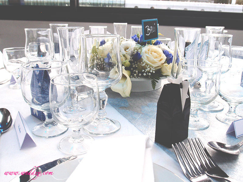 Décoration de table mariage Weddzy