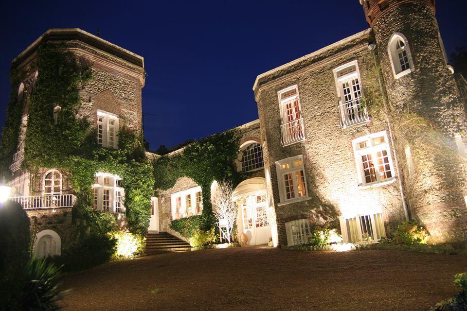 Façade de nuit - Domaine Saint Clair
