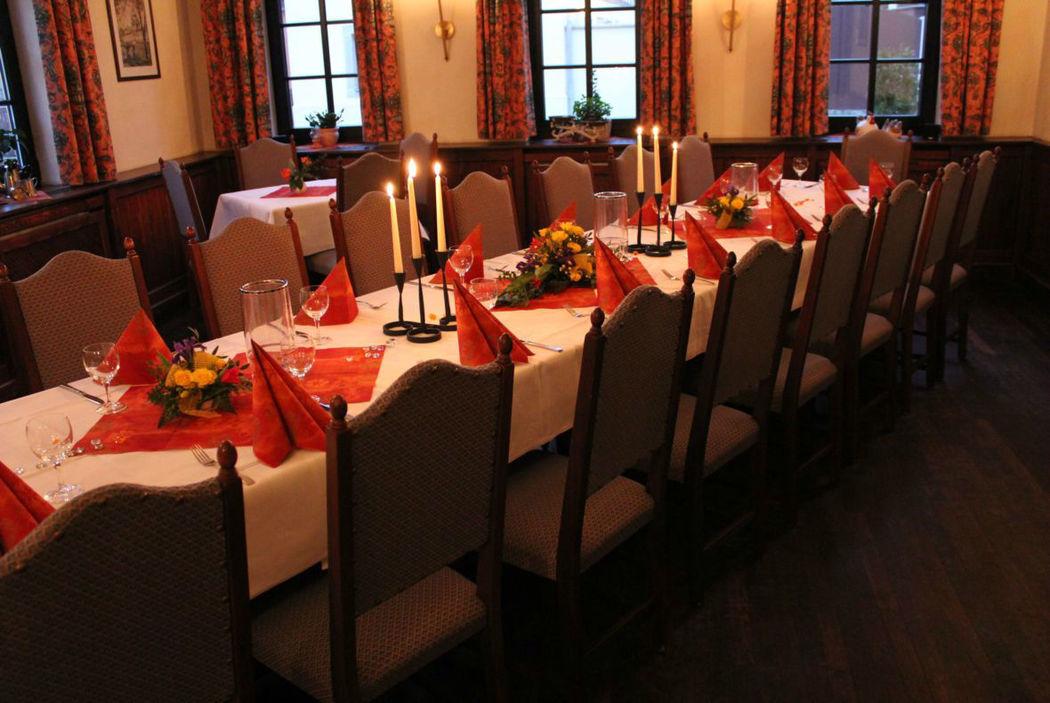 Beispiel: Klosterstube, Foto: Hotel Restaurant Klosterhof.
