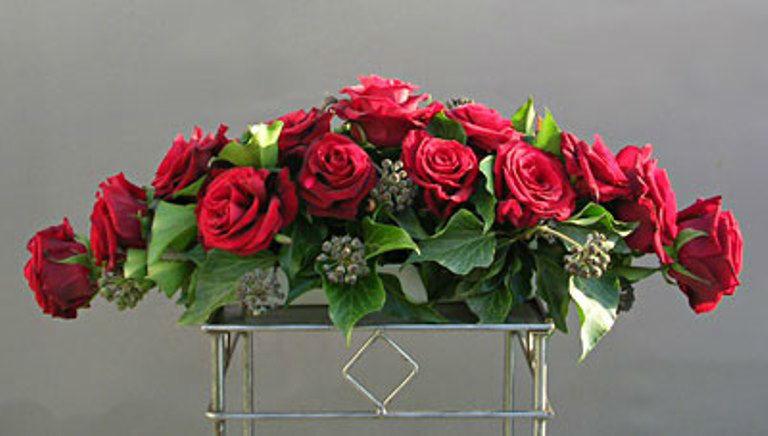 Beispiel: Einzigartige Kreationen aus Blumen, Foto: Blumen Leitgeb-Hitzler.