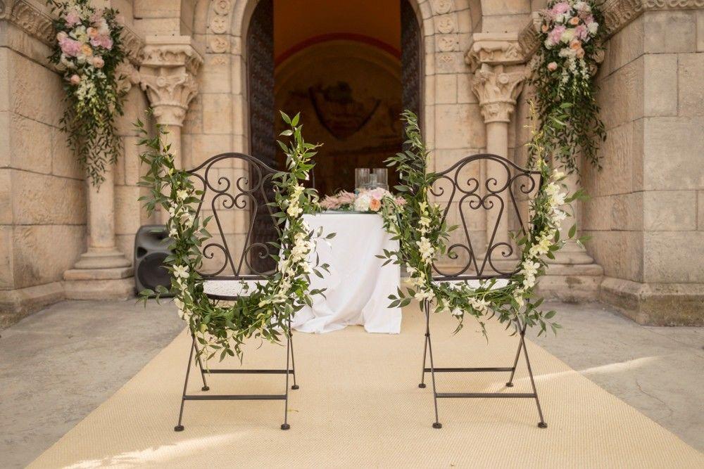 Ceremonia simbólica en la balconada del Monasterio