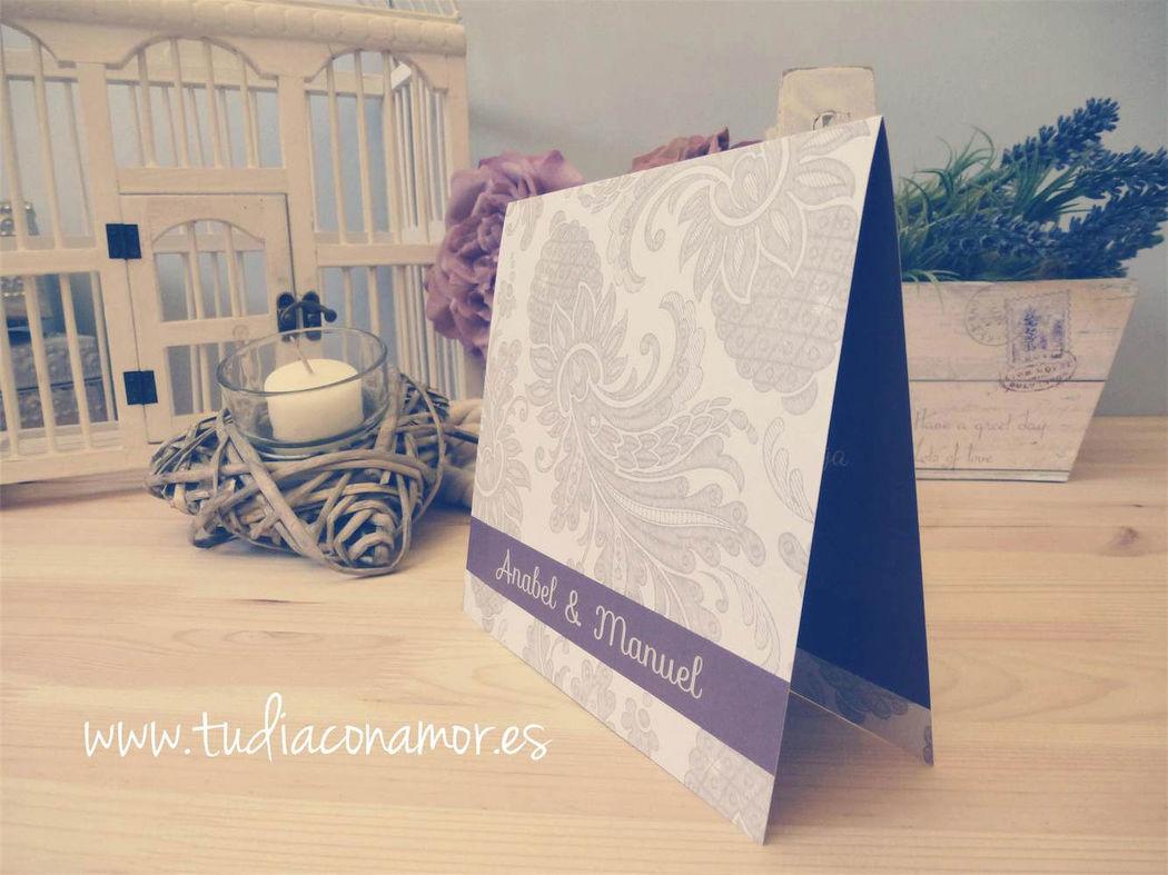 Tarjetas para boda