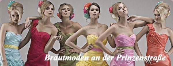 Beispiel: Abendkleider, Foto: Brautmode an der Prinzenstraße.