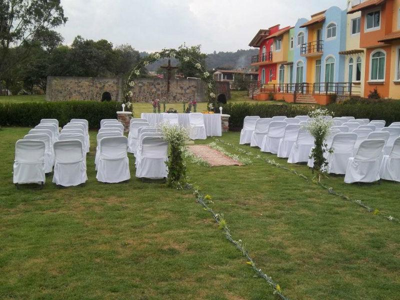 Jardines y haciendas para bodas en el Estado de México - Foto Finca San Fernando