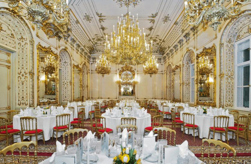 Beispiel: Festsaal, Foto: Palais Pallavicini.