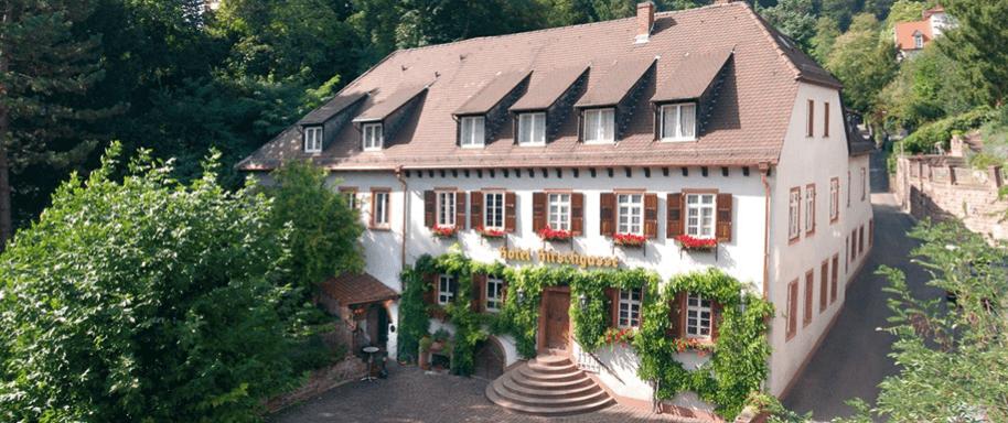 Beispiel: Außenansicht, Foto: Hotel Hirschgasse.