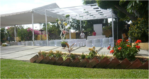 Club h pico bodas for Jardines para fiestas df