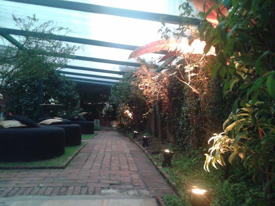 Jardim de festas