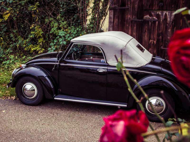 Beispiel: Eine Hochzeit im VW-Käfer, Foto: VinVents.
