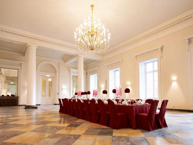 Beispiel: Spiegelsaal, Foto: Kurfürstliches Schloss Koblenz.
