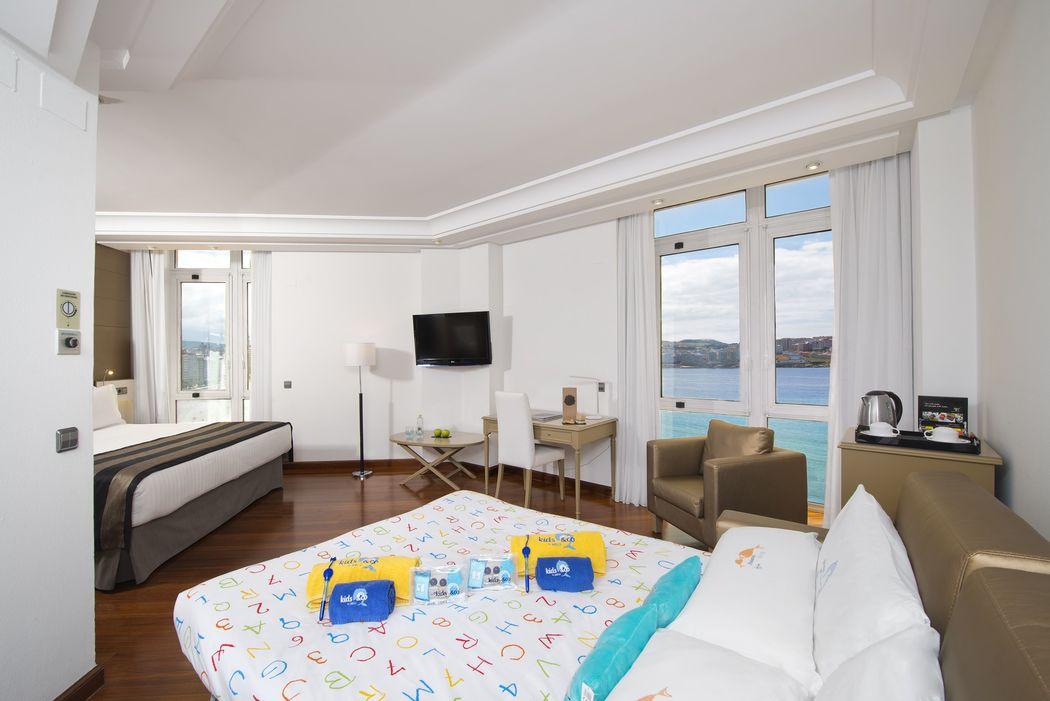 Habitación Premium con vistas al mar