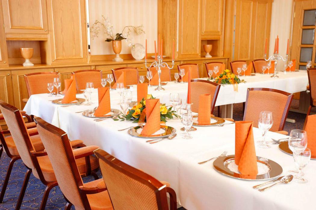 Beispiel: Grolland - Tischdekoration, Foto: Hotel Robben.