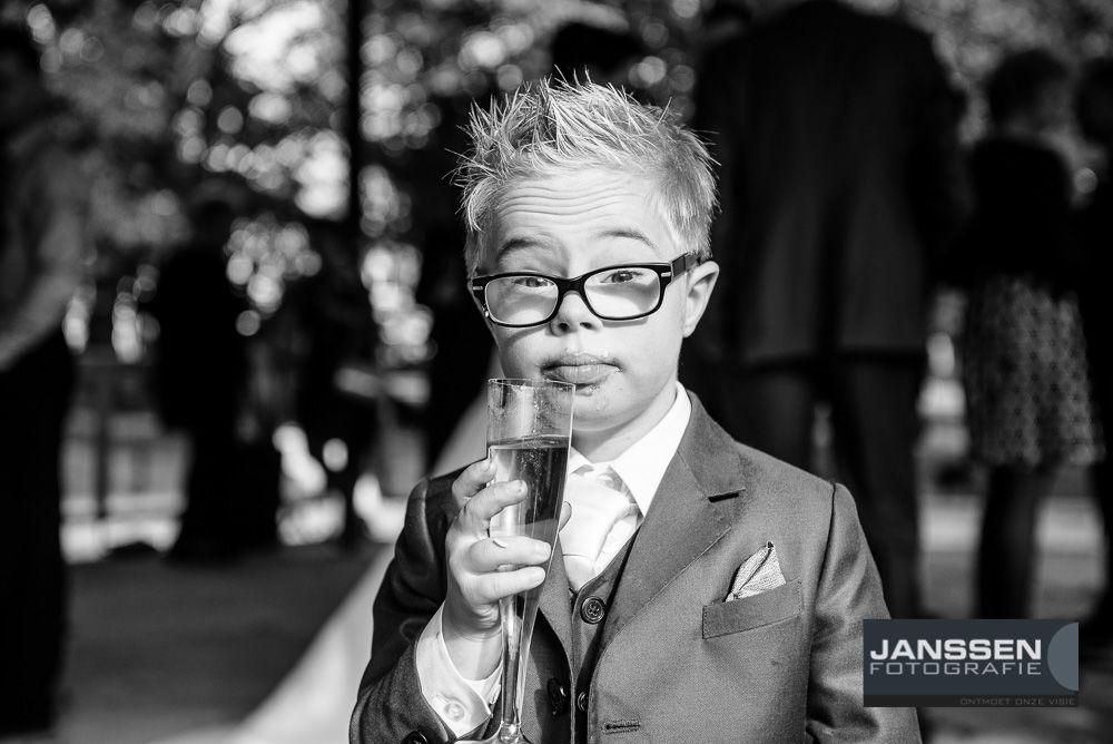 Bruidsfotografie met kinderen
