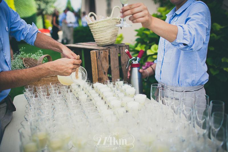 Gin Fizz - Catering Bodas 21 de Marzo