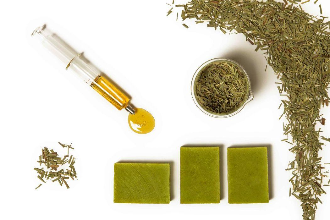 Detox Soap - hierba limón & miel