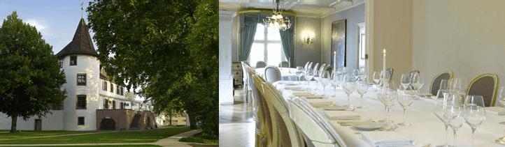 Beispiel: Ihre Hochzeitsfeier, Foto: Schloss Binningen - Hotel im Schlosspark.