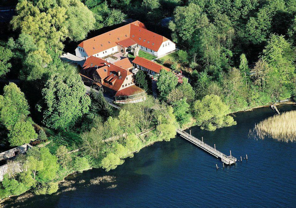 Beispiel: Luftaufnahme, Foto: Seehotel Heidehof.