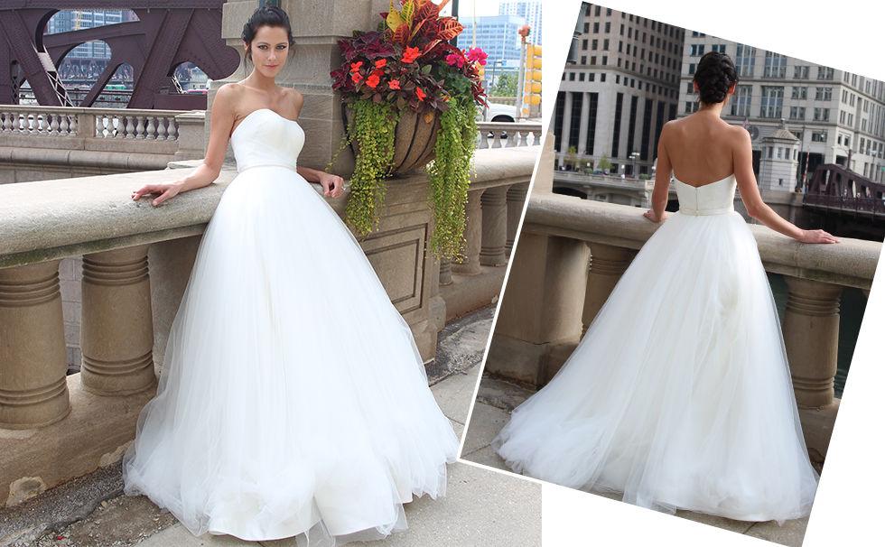 Robe de mariée en exclusivité sur le site de fabrication de robes de mariées sur mesure www.mariageenrose.fr
