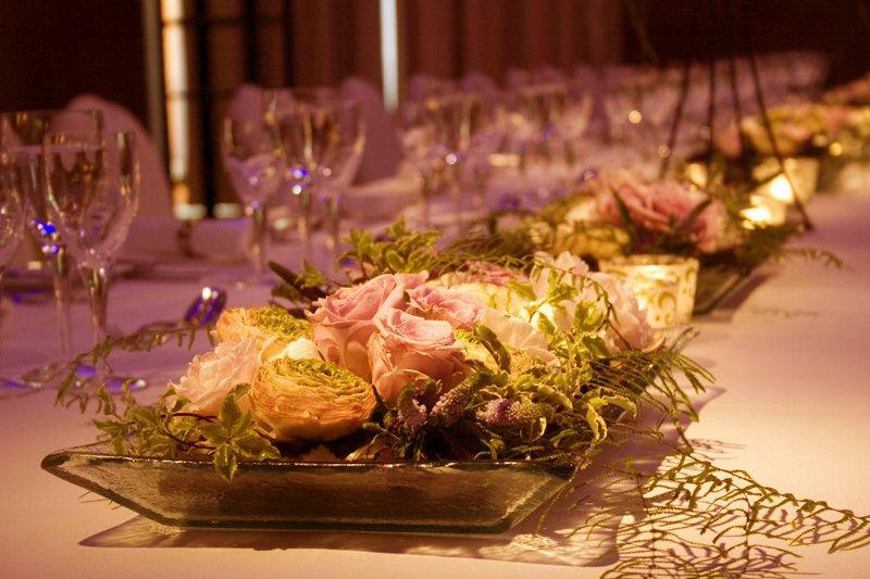 Beispiel: Hochzeitsdekoration, Foto: Marcolinis Welt.
