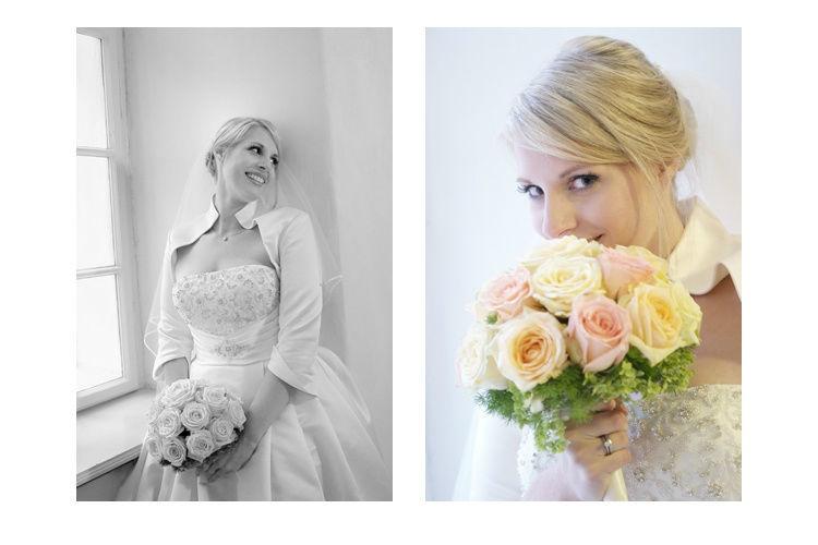 Beispiel: Portrait der Braut, Foto: Butter und Brot.
