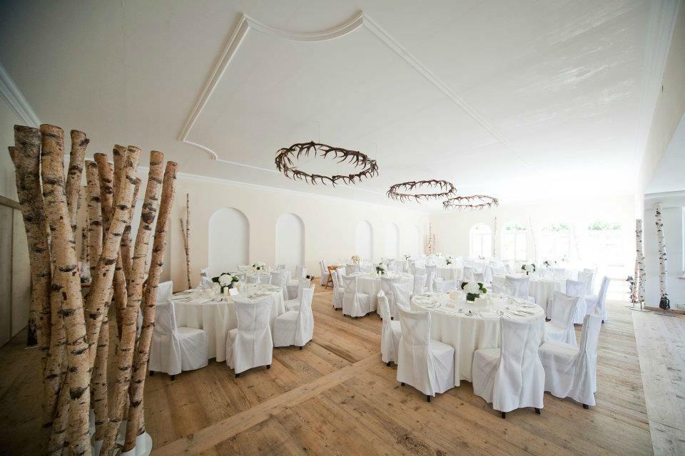 Beispiel: Festsaal, Foto: Ansitz Wartenfels.