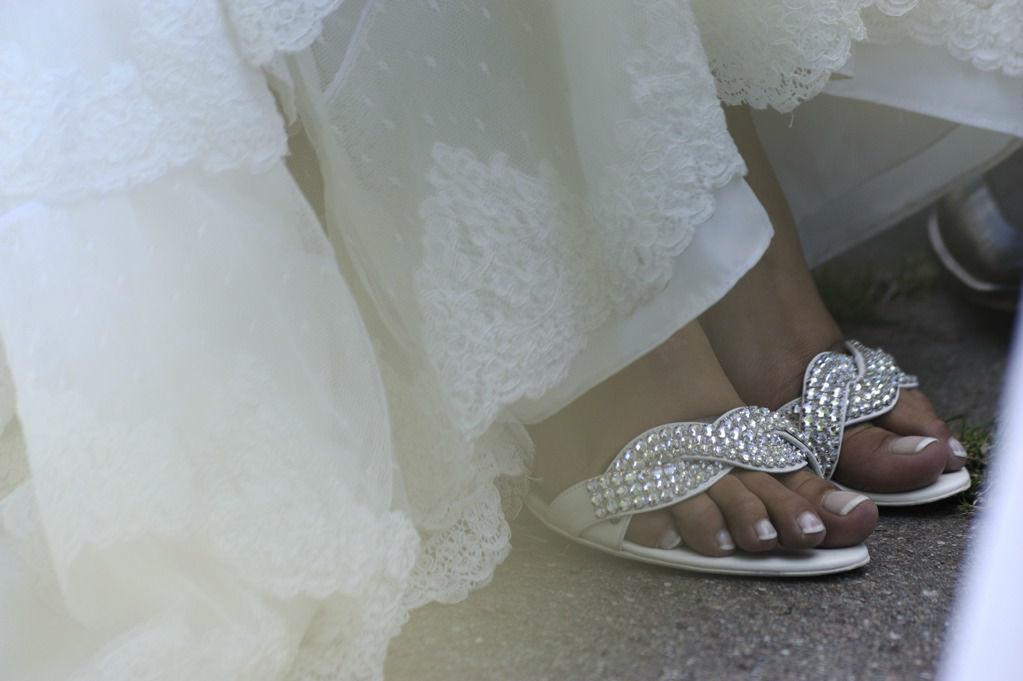 Beispiel: Detailaufnahme der Braut, Foto: Hochzeitspfarrer.