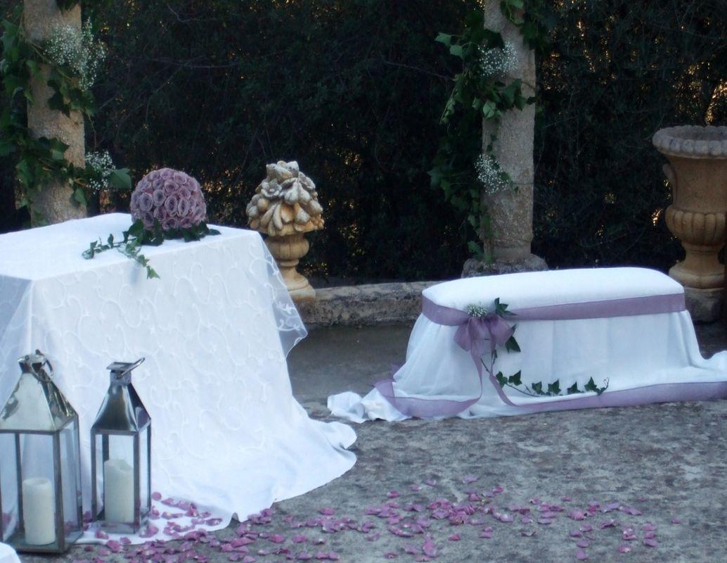 Deciracion anfiteatro para ceremonia