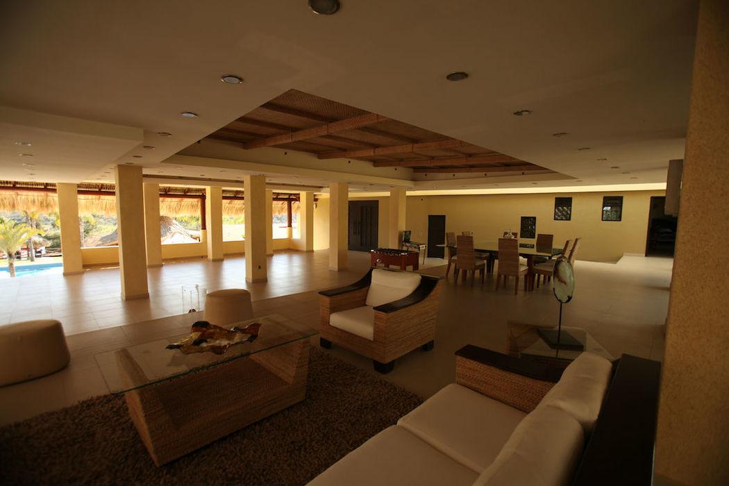 áreal de alberca salón