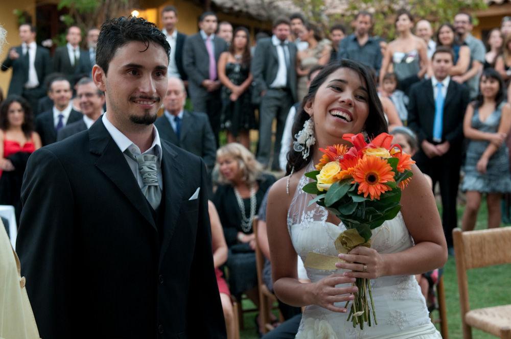 Novios casados y Felices