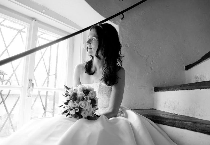 Beispiel: Braut, Foto: Fotostudio Fenske.